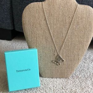 Gorgeous Tiffany Butterfly Necklace